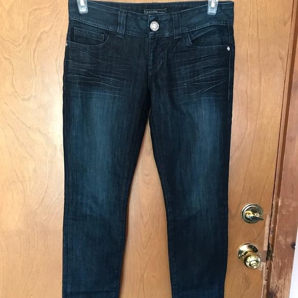 GUESS Premium Daredevil Skinny Jeans